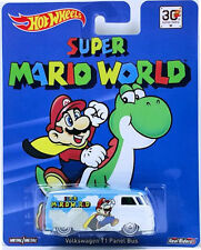 Hot wheels SUPER MARIO WORLD VW VOLKSWAGEN T1 Real Ruber Tyre