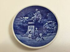 "Royal Copenhagen Denmark H.C Andersen Kongens Have 48/2010 Mini Plate, 3"" Dia"