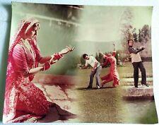 Rare Vintage Bollywood Poster - Rajesh Khanna - Reena Roy - 22 inch X 18 inch