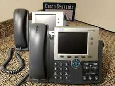 CISCO IP PHONE CP-7945G  Latest Firmware. 7945 Color Screen Phone