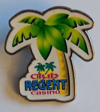 Club Regent Casino Lapel Pin Winnipeg Palm Tree Manitoba Souvenir Collectible