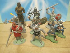 Timpo Britains Ideal Marx Castle Vintage Solid Knight 60Mm Plastic Toy Soldiers