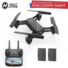 Holy Stone HS650 FPV Drohne mit HD 720P Kamera RC Quadrocopter Drone Mit 2 Akkus