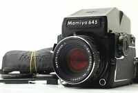 READ![Exc+5] Mamiya M645 1000S Sekor C 80mm f/2.8 AE Finder Strap From JAPAN