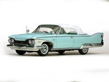 1960 Plymouth Fury closed convertible turquesa 1:18 Sun Star 5411 convertible Aqua Mist