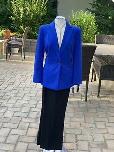 """KASPER  PANT SUIT  /NEW WITH TAG/SIZE 16/RETAIL$280/INSEAM 32""""/BLAZER LINED"""