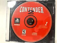 Contender 2 Playstation 1 PS1 Disc Only Tested + Working!