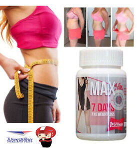 MAX Slim Detox Weight Loss Manage Dietary Supplement 7Days 7KG / 30 Capsules