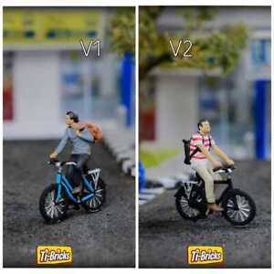 Diorama for diecast car Figure 1:64 Bike, Bicycle - for Johnny Lightning, Mijo