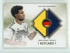 Serge Gnabry 2020 Futera KitCard Game Used Jersey /32 Germany Bayern Munich