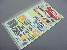 Vintage Original 1987 Tamiya 58071 SONIC FIGHTER Decal Sticker Sheet Brand New !