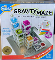Think Fun Gravity Maze Falling Marble & Logic Game- Game Of The Year 2015 NEW