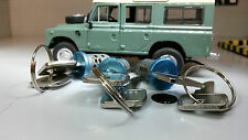 Land Rover Defender 90 110 130 Door Lock 3x Barrel & Keys Matched Set MTC6504