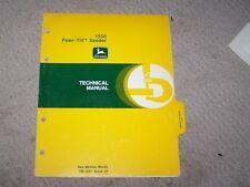 John Deere 1550 Powr-Till Seeder Tech Manual B8