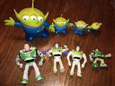 Rare Vintage Disney Pixar TOY STORY BUZZ Figure Lot Movie Promo Cartoon 90s McD