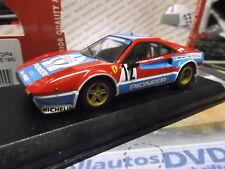 FERRARI 308 GTB RALLY mis. 4 #12 Tour de Corse 1982 Andruet PIONEER Best 1:43
