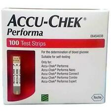 Accu - Chek Performa 100 Strips Glucose Test Strips Manual Gluco Test Strips