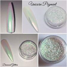Efecto De Unicornio Iridiscente Ultra Fina cromo pigmento En Polvo Pote de 1g