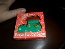 RARE Vintage 1950s PUNCH & JUDY SHOW  by Spec-Toy-Culars Mint Toy in Vg  Box