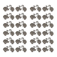 24pcs Wedding Table Metal Bicycle Number Name Memo Place Card Stand Holders