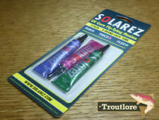 SOLAREZ FLY TIE 3 PACK UV RESIN CURE GLUE COMBO PACKAGE NEW FLY TYING