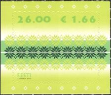Estonia 2010 Textiles/Cloth/Design/Art/Definitives 1v s/a (ee1199)