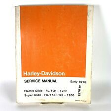New ListingHarley Davidson 1970 to Early 1978 Fl/Flh/Fx/Fxe/Fxs 1200 Service Manual 99482-7