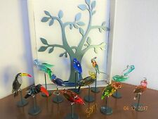 SWAROVSKI Paradise Tropical Birds Priced By Piece 4 Collection Buy All 11 Pieces