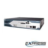 Cisco CISCO2821 + NM-HDV-1T1-24 1-port 24-channel T1 Voice / Fax NM