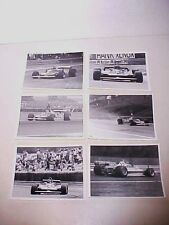 Ferrari Gilles Villeneuve F1 Press Photos Formula One Six Racing Photo's