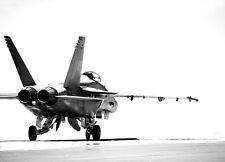 Papier peint photo mural F18 Fighter pour les murs militaire Jet Aircraft