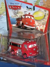 DISNEY PIXAR CARS 2 RED FIRE TRUCK DELUXE #3 ***BRAND NEW & RARE***