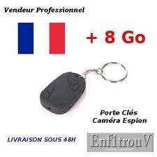 Mini Caméra Espion Porte Clés Bip Voiture Vidéo Photo Max Spy Car Key + 8 Go