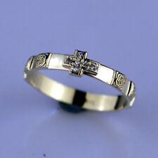 14K Gold Rosary Ring(1.7 Gram #GA0228R) by estherleejewel
