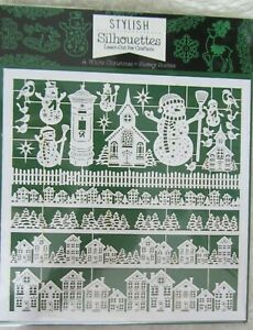 """Hunkydory-Stylish Silhouettes-Laser Cut-A White Christmas-""""Snowy Scenes""""-NEW"""