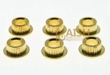 Gold 10mm Metal Guitar Conversion bushings Adapter  for Vintage Tuning Keys
