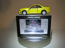 Tomica Limited 20 '96 Nissan Skyline GT-R 33 Nismo 400R 1:60 Die cast Mint!