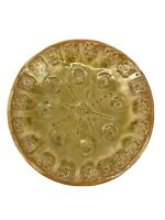 Vintage Signed Stamped Studio Pottery Small Trinket Catchall Plate Bowl