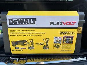 *DeWALT DCKTS295T2 60v FLEXVOLT Brushless 2-Tool Combo Kit w/ TOUGHSYSTEM CASE*