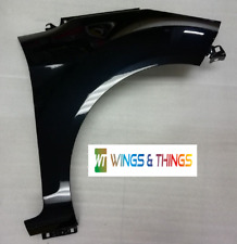 FORD FIESTA 2008 - 2017 MK7 DRIVER O/S WING fully painted in PANTHER BLACK