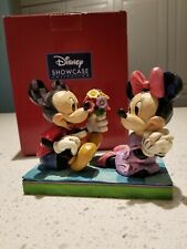 """""""I Picked This Just For You"""" Disney Jim Shore Mickey And Minnie EUC"""