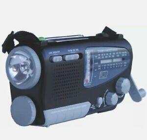 Kaito KA888 Solar Crank Powered Portable Emergency AM/FM Shortwave Radio