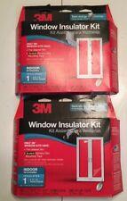 """(2 PACK) 3M Window Insulator Kit Indoor- 1 6'8""""X9'"""