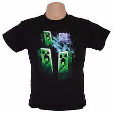 Oficial Minecraft Oficial (juego) T-shirt | Boys & Girls 10-12 | Enredadera Moon