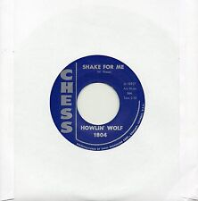 HOWLIN' WOLF   SHAKE FOR ME / THE RED ROOSTER  CHESS Re-Iss/Re-Pro  R&B/MOD