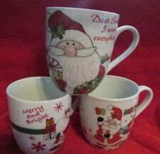 Fitz and Floyd Set of 3 Miscellaneous 4 ¼�Mugs
