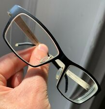 orgreen  eyeglasses model brainiac titanium blue