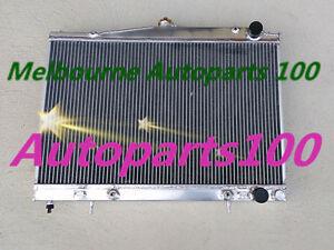 For Nissan Pintara /Skyline R33/ R34 Radiator Auto Manual with sensor hole Alloy