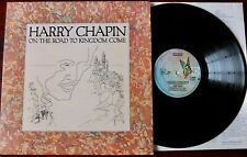 HARRY CHAPIN ON THE ROAD TO KINGDOM LP ELEKTRA UK (1976) EX++ A1 B1 SOUNDS GREAT