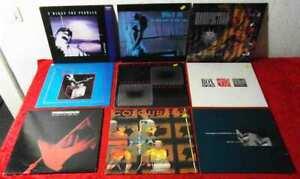 10 Langspielplatten PUNK / WAVE/  INDEPENDENT  - Vinylsammlung -